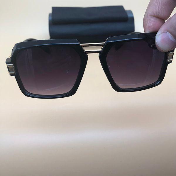 Gafas de sol cuadradas Gafas de montura negra Gafas de leyendas de plastico Gafas de sol polarizadas para mujer Gafas de sol de diseñador 4030
