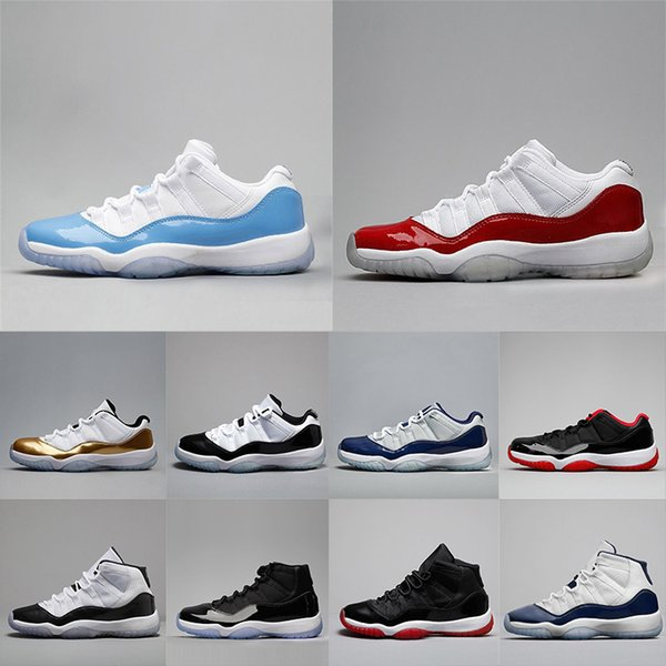 New 11 Prom Night Black Win Like 96 82 Space Jam Bred Concord Basketball Shoes Men Gym Red 11s Sport Shoes Trainers Sneakers