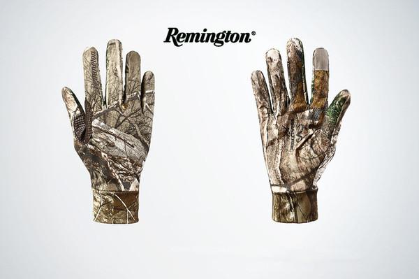 top popular Hunting Camouflage Gloves Riding Hiking Outdoor Glove Men's  Women's Summer Bike Bicycle Gloves Nylon Sport Mountain Bike Gloves 2019