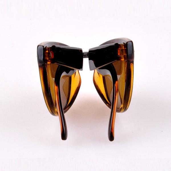Hot Sale AK4105 Fold Classical Sunglasses 601 601s shiny Matte Black 710 Tortoise frame G15 Green Brown lens man women Folding Sun Glasses