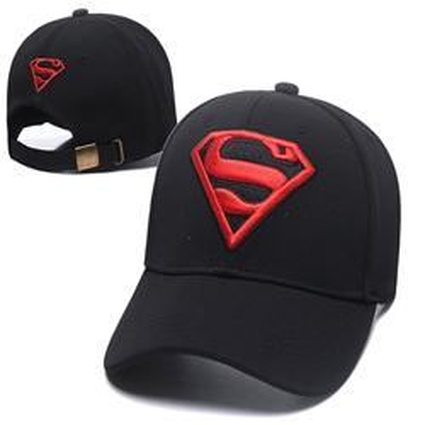 07c77195be4 Good Sale Fashion Superman peaked cap Snapback Hats Men Women Sport Snap  back Summer Truck Mesh