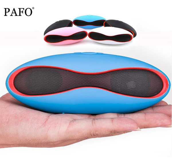 Altoparlanti Bluetooth wireless X6 Altoparlante vivavoce portatile Costruito nel ricevitore audio MIC Ricevitore a braccio Supporto TF Card USB