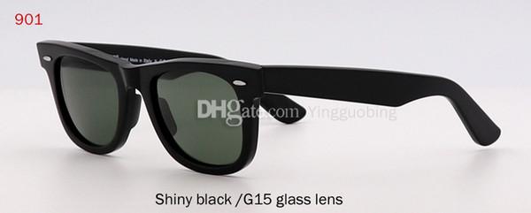 لامعة أسود / G15 عدسة زجاجية