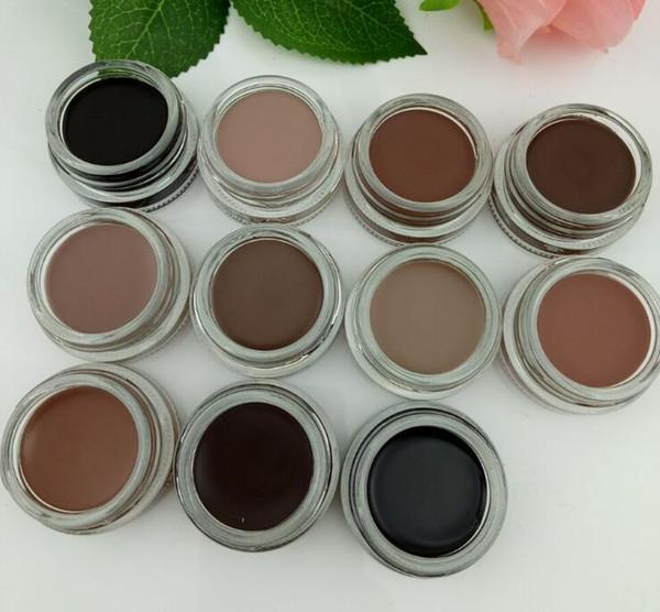 Date Sourcils Imperméable À L'eau Pommade Sourcils Enhancers Maquillage 11 Couleurs Avec Le Paquet Au Détail Doux Moyen Cendré Brun Chocolat CARAMEL