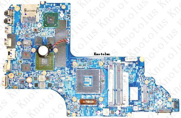 682174-501 para HP pavilion DV6 DV6-7000 placa base portátil 48.4ST06.021 ddr3 Envío gratis 100% prueba ok