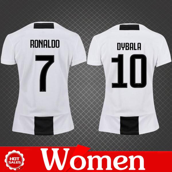 low priced aa493 09955 2019 Women Jersey 2019 Home Soccer Jerseys Ronaldo Female DYBALR MANDZUKIC  Juve Girl TOP Quality Football Shirt From Chenle258, $14.13   DHgate.Com