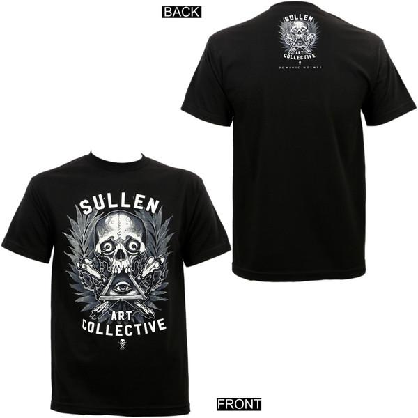 Sullen Clothing Holmes Badge Artist Series T-Shirt S-5Xl New T-shirt Men Man's Unique Custom Short Sleeve Boyfriend's Plus Size Party T Shir