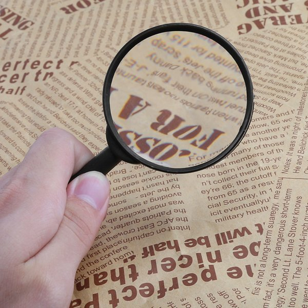 1 PC Magnifier 60mm Hand Held 5X Magnifying Loupe Reading Glass Lens For Watch
