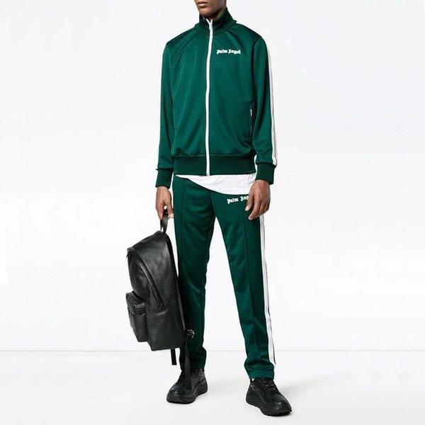 18ss Palm Engel Männer Frauen Track Jacke Lässige Outwear Schule Sport Männer Womne Mode Jacke HFLSJK232