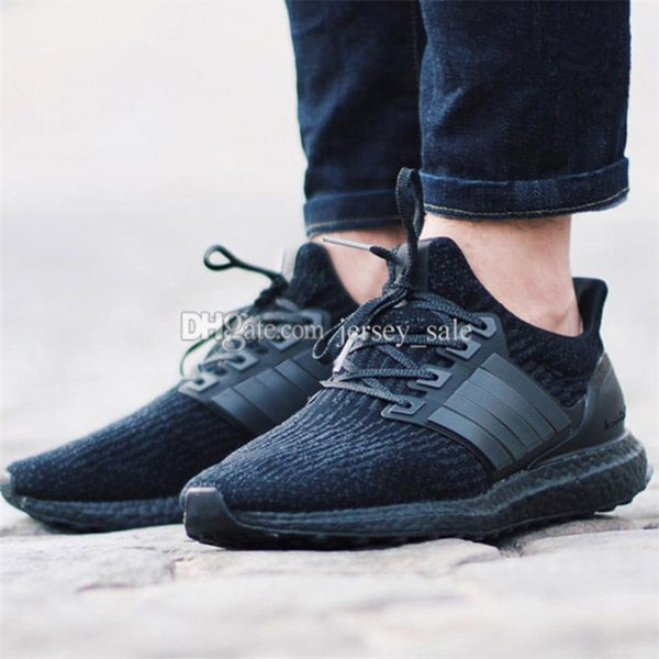 #01 Ultra Boost 3.0 Triple Black