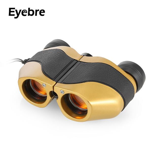Eyebre 8X21 166 M / 1000 M Pliant Binoculaire Extérieur Entièrement enduit Porro Prisme Chasse Télescope Automatique mise au point extérieure sport oculaire