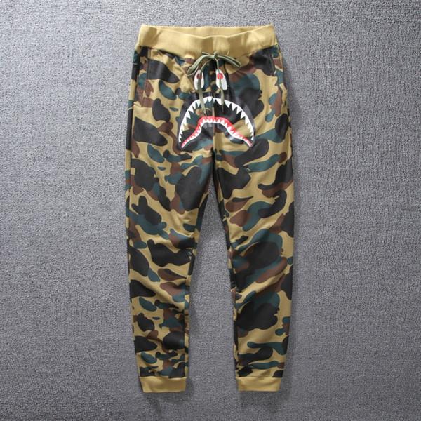 Compre Moda Tide Streetwear Pantalones Para Hombres Pantalones ...