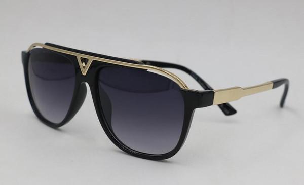 f24b2763fb3 Fashion Sunglasses Retro Vintage Men Shiny Gold Frame Laser Logo Women High  Quality Sun Glasses Free Shopping Sun Glasses Polarized Sunglasses  Sunglasses ...