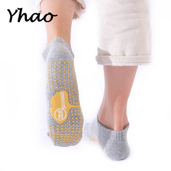 Compre Yhao New Full Toes Mujeres Calcetines De Yoga Antideslizantes ...