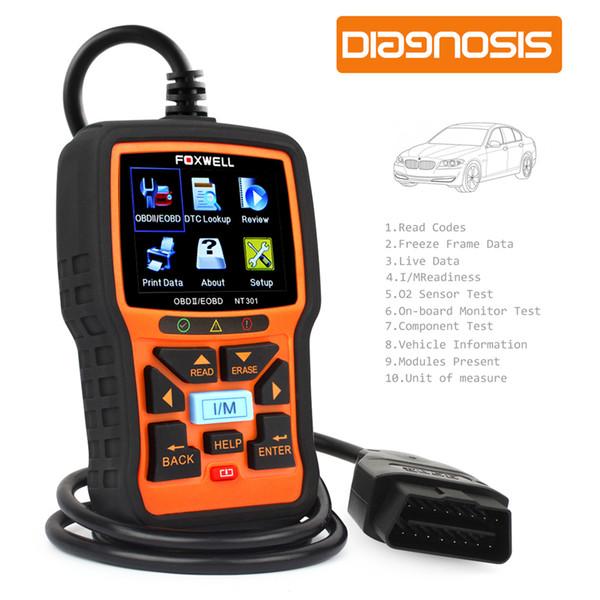 Automotive Scanner OBD OBD2 Auto Diagnostic Tool Engine Fault Code Reader with O2 Sensor Scan Tool Code Scanner