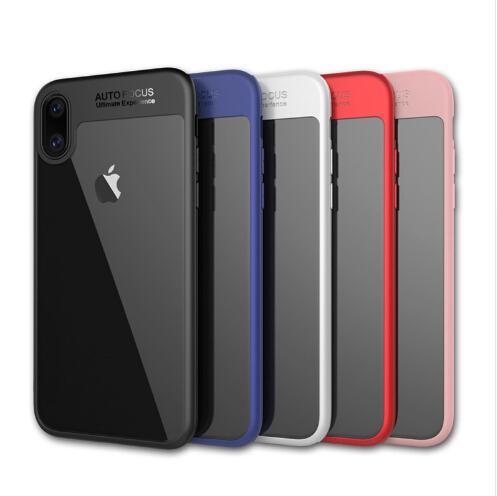 Para iPhone 8 Plus iPhone X teléfono caja de la contraportada TPU claro a prueba de golpes teléfono protector de la caja para Iphone 8 no DHL