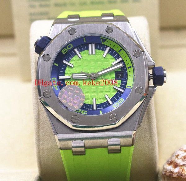 top popular 5 Style High Quality Wristwatches N8 Version 42mm Offshore Diver 15703 15710 15710ST.OO.A038CA.01 Mechanical Automatic Mens Watch Watches 2019