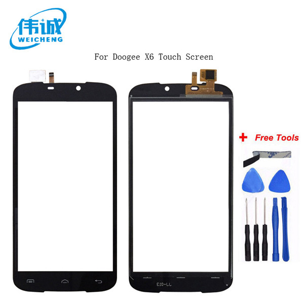 WEICHENG Top Quality For Doogee X6 Touch Screen Digitizer 100% tested WEICHENG Digitizer Glass Panel Replacement