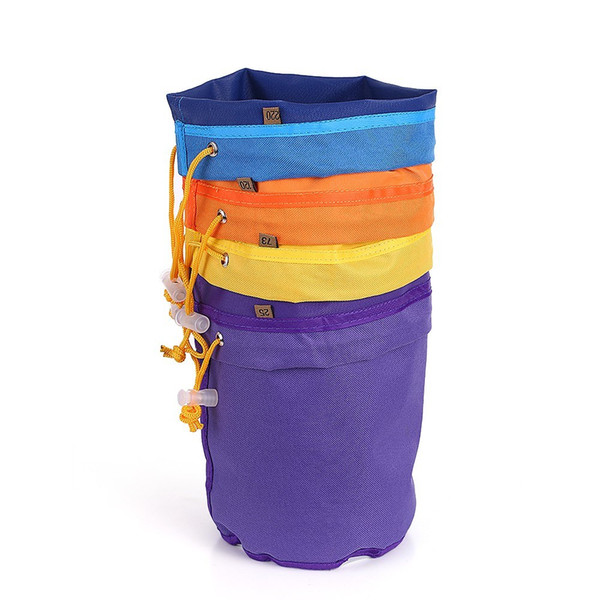 Round Garden Plant pots Growing Bags Pouch Root Container Grow Bag Aeration Planters Flower Pots Container 4pcs/set