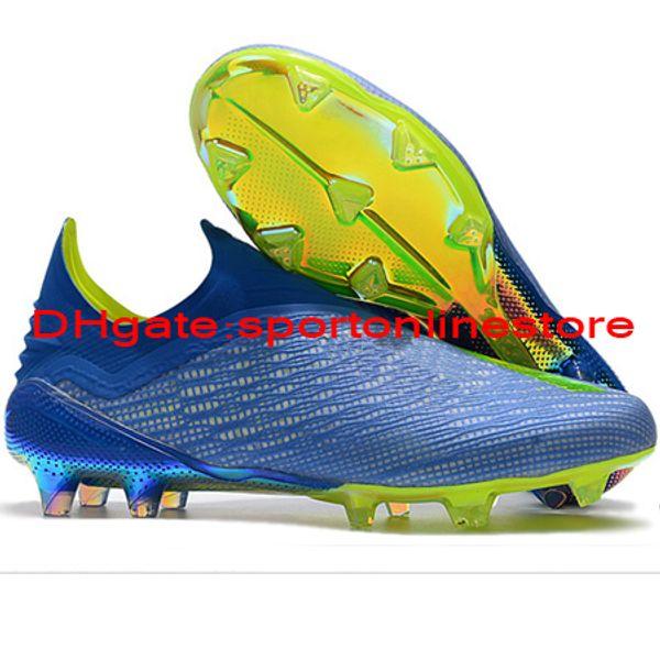 Acquista 2018 Tacchetti Da Calcio Uomo Predator X 18+ Purespeed FG Scarpe Da Calcio X 18 Scarpe Da Calcio Di Alta Qualità Scarpe Laceless Calcio
