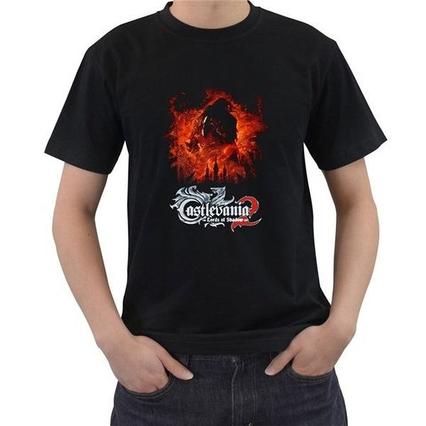 Loose Clothes Novelty Men Crew Neck Short-Sleeve Castlevania Lords Of Shadow Video Games Size S-4Xl Tees
