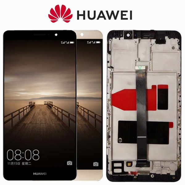 Display ORIGINALE 5.9 '' 1920x1080 per HUAWEI Mate 7 8 9 LCD Touch Screen Digitizer con Frame LCD Mate7 Mate8 Mate9 Replacement