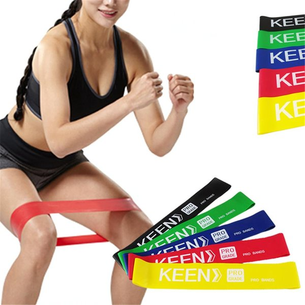 Fitness Equipment Strength Training Resistance Bands Rubber Crossfit Yoga Loops Sport Training Equipment 500mm 600mm