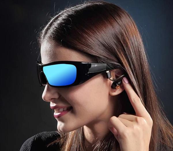 Auriculares de conducción de hueso gafas de sol inteligentes auriculares a prueba de agua auriculares auriculares de natación Bluetooth