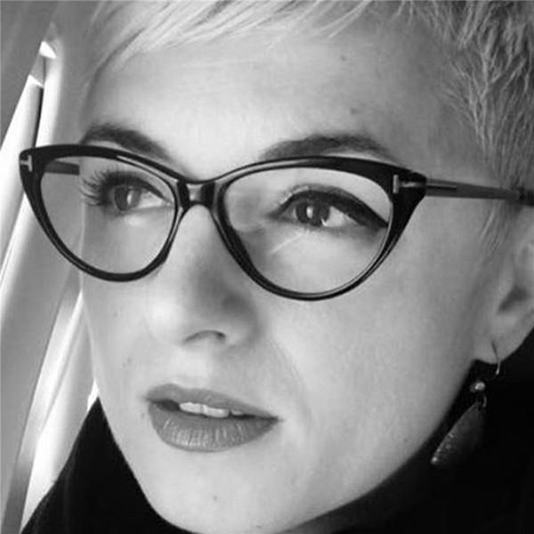 HUITUO новый стиль Кошачий глаз круглые очки Очки для чтения ретро литературный вентилятор плоское зеркало очки рамка высокое качество очки