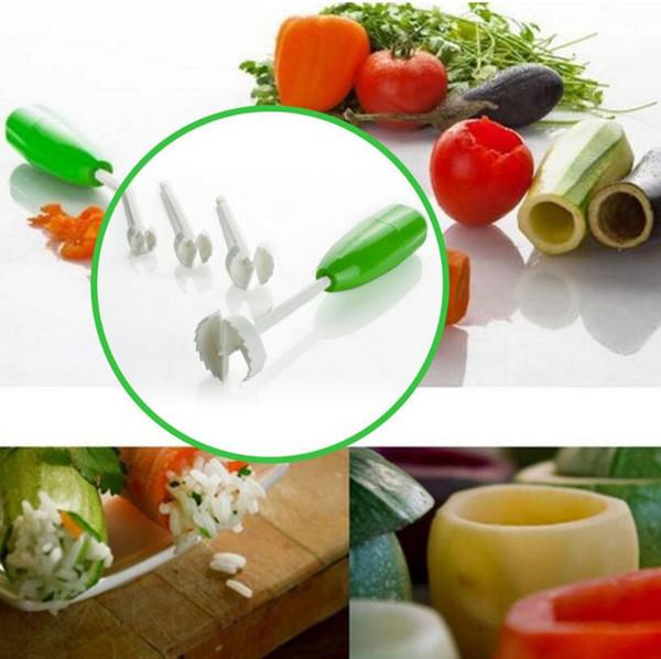 2019 Vegetable Cutter Spiralizer Kitchen Portable Digging Device Vege Drill  Set Spiral Cutter Kitchen Tools LJJO4444 From Liangjingjing_no1, $3.52 | ...