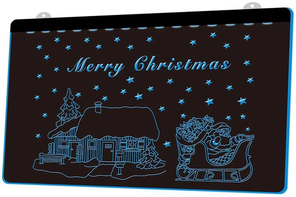 LD002-b Merry Christmas Decor Neon Light Sign Decor Free Shipping Dropshipping Wholesale 6 colors to choose