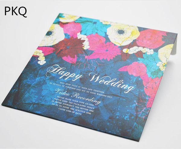 12 8x12 8cm Happy Wedding Wedding Printed Envelope Party CD Dvd Set  Packaging Paper Box CD DVD Cover Buy Gift Wrapping Paper Buy Gift Wrapping  Paper
