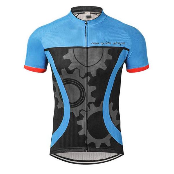 Maglie riflettenti da ciclismo a maniche corte traspiranti e quick dry da bici da ciclismo a maglie da gara che indossano top di alta qualità