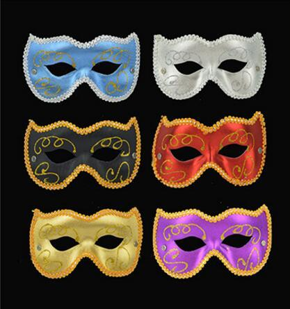 Children's Day ball party masks holiday performance props PVC cat face mask, cat girl mask, half face mask L437