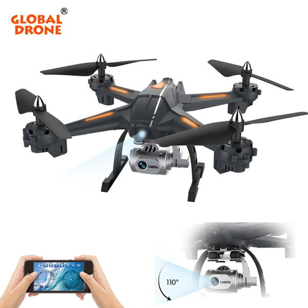 Global Drone Long Flight Time Profissional Wifi FPV Drone With Camera Wide Angle Quadrocopter Headless Mode Height Hold
