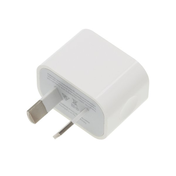 AU Plug Two USB 1USB Ports Mobile Phone Charger DC 5V 2A Output Power Adapter Used for iPhone iPad Samsung HTC Mobile Phone Tablet PC 100pcs