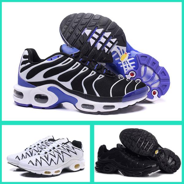 Compre Nike Air Max TN Plus Basketball Sapatilhas sapatos 2018 Novas Sapatilhas Basketball c74c38