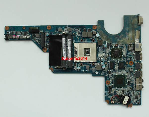 for HP Pavilion G4 G6 G7 Series 636375-001 DA0R13MB6E0 HM65 6470/1G Laptop Motherboard Mainboard System Board Tested