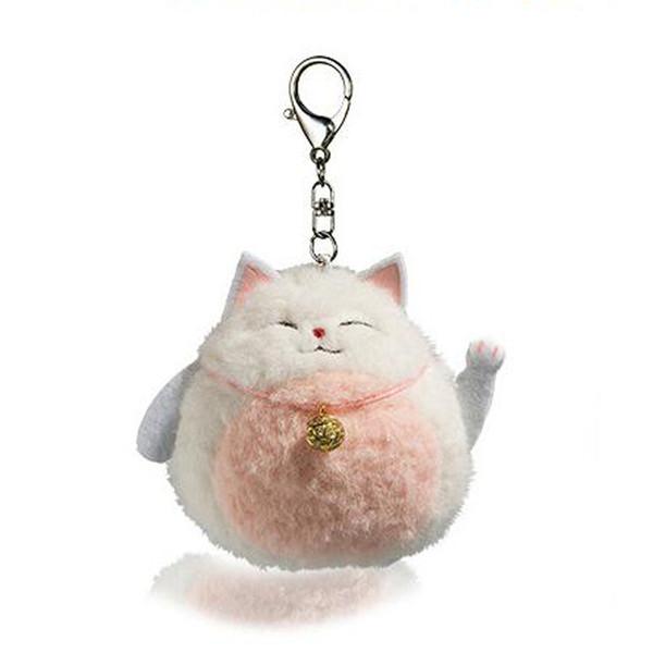 Lucky Cat Плюшевые животные Брелок чучело животных Кулон 4