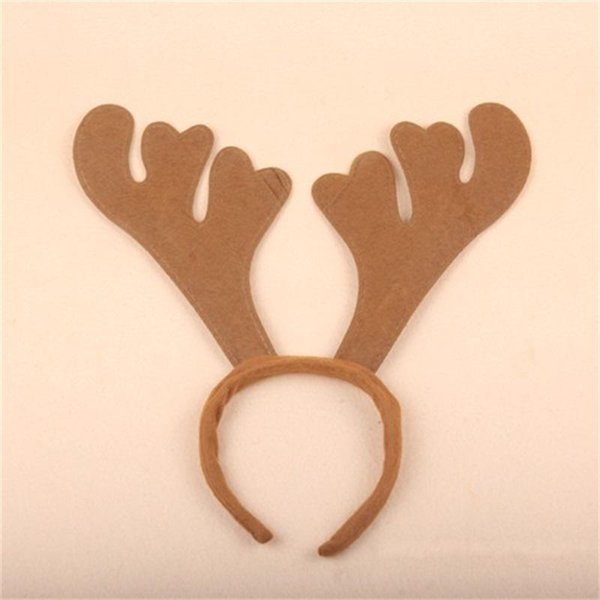 Merry Christmas Antler Imitated Mink Hairpin Hair Hoop Clip Buckle Head Ornaments Party Supplies Bar Birthday Decoration Non Woven 2 5ms ff