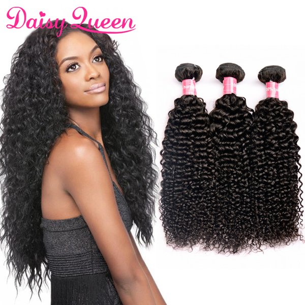 Malaysian Kinky Curly Hair 3Pcs Grade 8A Virgin Uprocessed Human Hair Bundles Natural Color Cheap Malaysian Hair Curly Weave 8-28 inch
