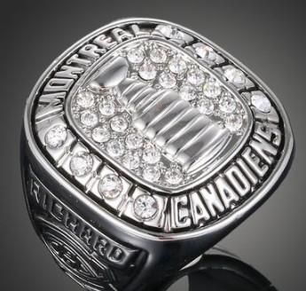 New arrival men fashion jewelry Montreal Canadiens championship ring Love Valentine's day Christmas festival gift