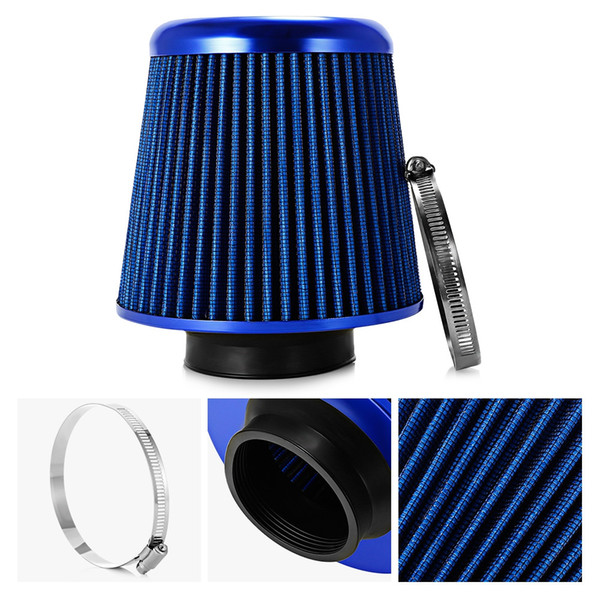 Air Filter Universal Auto Cold Air Intake High Flow Filter Easy Installation Conical Style Car Intake Filter Auto Parts