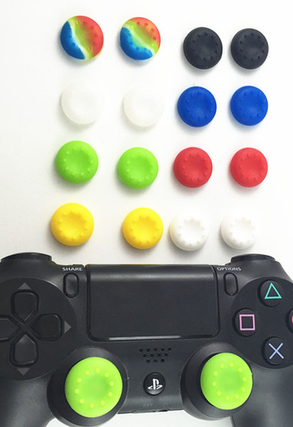 hot sale 1000 Silicone Key Protector Guard Thumb Stick Cover Case Skin Joystick Controller Grip Cap For PS3 PS4 Slim PS4 Pro Xbox one 360