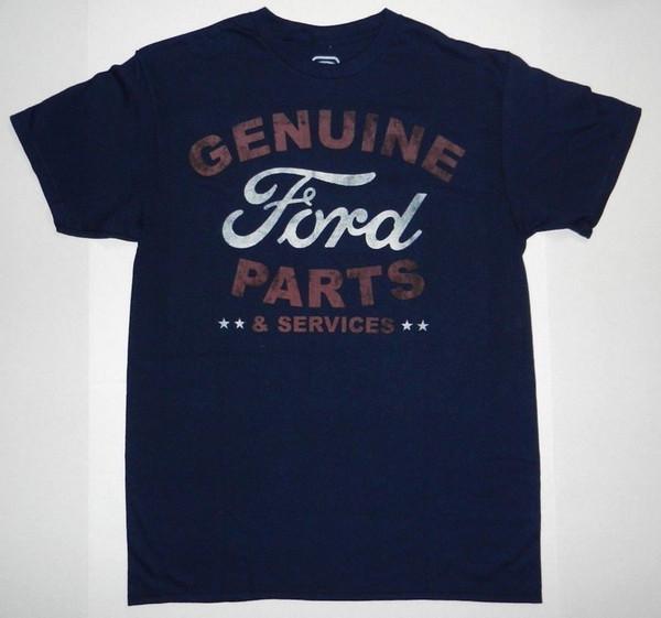 Détails zu Produit sous licence Authentique T-shirt avec logo Ford Parts Services Nouveau Nouveau