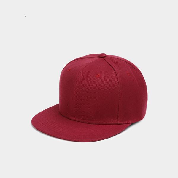 Neue Muster Solid Color Ma'am Baseballmütze Flachen Rand Licht Panel Hüte Mann Hip Hop Hut