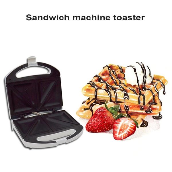 Multifunctional Electric Mini Sandwich Makers Grilling Plate Waffle Toaster Breakfast Machine Barbecue Oven EU Plug BBQ Tools
