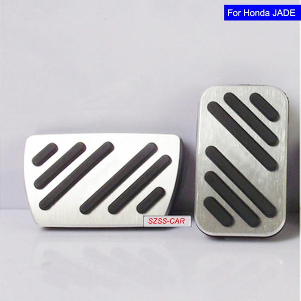 Car Aluminium Alloy Petrol Clutch Fuel Brake Braking Pad Foot Pedal Rest Plate for Honda Crider Pedals