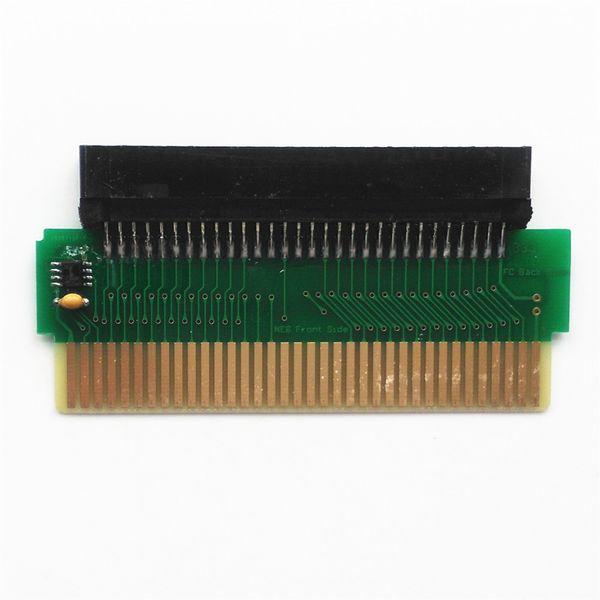 60 Pin Famicom FC için 72 Pin NES Oyun Kartı Dönüştürücü DIY FC NES Adaptörü PCBA ile CIC çip DHL FEDEX EMS ÜCRETSIZ KARGO