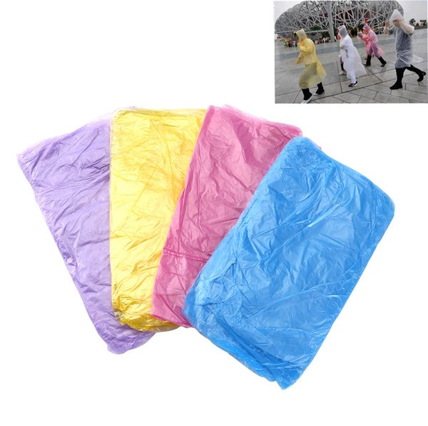 Disposable poncho emergency rain poncho for man woman super waterproof for rainy rainwear one size fit all disposable raincoat travel